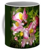 Pink Begonia Coffee Mug