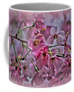 Pink Blossoms - Paint Coffee Mug