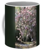 Pink Blossoms And Gray Moss Coffee Mug