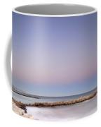 Pink Blue Sunset Over Banus Coffee Mug