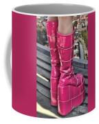 Pink Boots Coffee Mug by Jasna Buncic