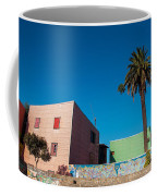 Pink Building In Historic Neighborhood Coffee Mug