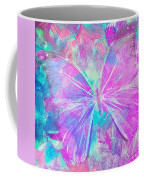 Pink Butterfly By Jan Marvin Coffee Mug