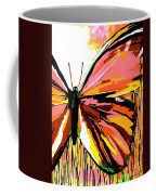 Pink Butterfly Coffee Mug