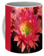 Pink Cactus Flower Coffee Mug
