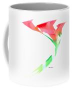 Pink Calla Lilies Coffee Mug