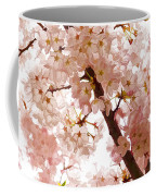 Pink Cherry Blossoms - Impressions Of Spring Coffee Mug