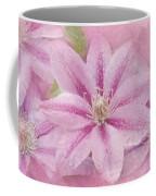 Pink Clematis Profusion Coffee Mug