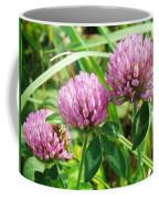 Pink Clover Wildflower - Trifolium Pratense Coffee Mug