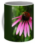 Pink Cone Flower Coffee Mug