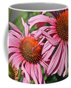 Pink Coneflowers Coffee Mug