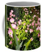 Pink Cosmos Swirl Coffee Mug