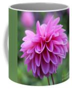 Pink Dahlia Closeup Coffee Mug