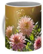 Pink Dahlia Garden Coffee Mug