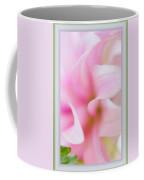 Pink Dahlia Petals Coffee Mug