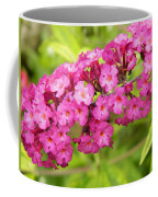 Pink Delphinium Coffee Mug