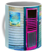 Pink Door Coffee Mug
