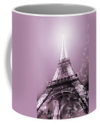 Pink Eiffel Tower Paris Coffee Mug