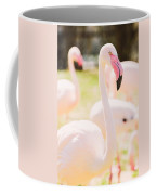 Pink Flamingo Portrait Coffee Mug