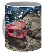 Pink Flip Flop Coffee Mug