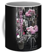 Pink Flower Arrangements Coffee Mug by Elena Elisseeva
