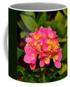 Pink Flower Austin Coffee Mug
