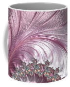 Pink Froth A Fractal Abstract Coffee Mug
