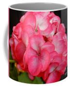 Pink Geranium Coffee Mug