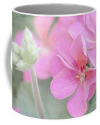 Pink Geraniums Coffee Mug