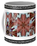 Pink Glass And Black Lace  Coffee Mug