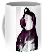 Pink Glass Bear Coffee Mug