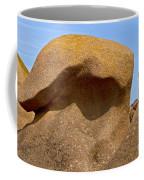 Pink Granite Lighthouse Coffee Mug