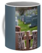 Pink Granite Tombstone Coffee Mug