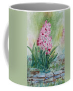 Pink Hyacint Coffee Mug