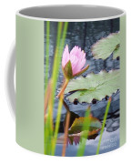 Pink Lily And Pads Coffee Mug