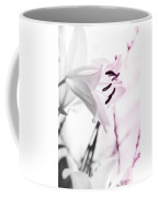 Pink Lily Feature Coffee Mug