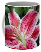 Pink Lily Coffee Mug