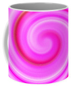 Pink Lollipop Swirl Coffee Mug