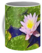 Pink Lotus At Waikoloa Coffee Mug