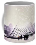 Pink Louvre Paris Coffee Mug