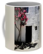 Pink Oleander By The Door Coffee Mug