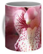 Pink Orchid Closeup Coffee Mug