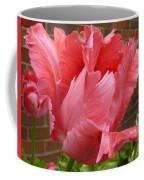 Pink Parrot Tulip Coffee Mug