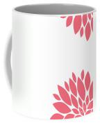 Pink Peony Flowers Coffee Mug