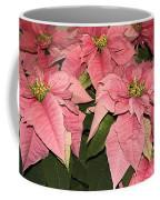 Pink Poinsettias Close-up Coffee Mug