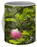 Pink Powderpuff Blossom Coffee Mug