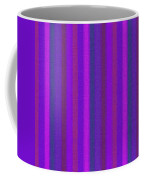 Pink Purple And Blue Striped Textile Background Coffee Mug