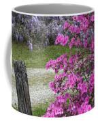 Pink Purple Mississippi Blooms Coffee Mug