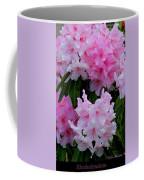 Pink Rhododendrons Coffee Mug