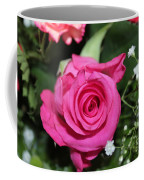 Pink Rose Adds Colour Coffee Mug